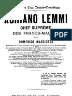 Adriano Lemmi - Chef supreme des Francs-maçons