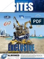 Qatar Construction Sites magazine  August 2012