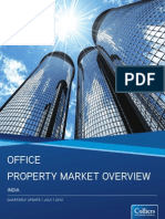 India Office Property Market Overview 2Q 2012
