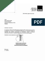 ACHS - Informe técnico N°201207035210 - Accidente Senador Navarro