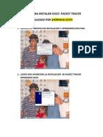 Pasos Para Instalar Cisco Packet Tracer Jhorman Soto