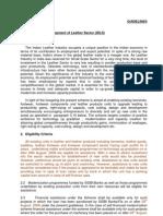 Integrated Development of Leather Sector (IDLS) - Naresh Kadyan