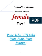 Do Catholics Know About the Female Pope Joanna?
