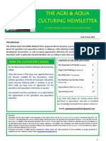 Agriculture and Aquaculture Newsletter June 2012