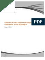 RCSP-W Blueprint - Exam 199-01