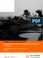 Bangladesh, Climate Disasters-Humanitarian Practice Challenged by Populations-URD & Rupantar-2010