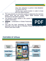 Features of GPSolat