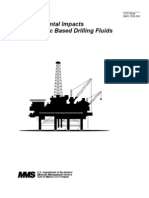 Environmental Impacts of Drilling Fluids