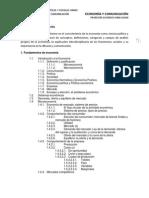 Programa Economía y comunicación 2013-1