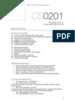 JAN CS0201 Fundamentals of Communication (WKWSCI)