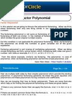 Factor Polynomial