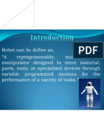 PPT on  ROBOT