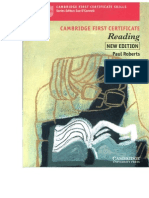 Cambridge FCE Skills Reading