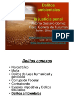 """Taller """"Delitos Ambientales"""" - Salta, 11 de Agosto de 2012"""