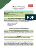 Informativo Online n° 30