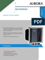 Arora Wind Interface 4000-7200