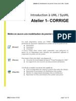 [Atelier01 b] CORRIGE Modelisation Premier Niveau