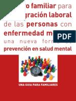 Apoyo Familiar Para Integracion Laboral Personas Con Enf Mental