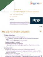 TD14 3GPP-TISPAN Emulation Architecture