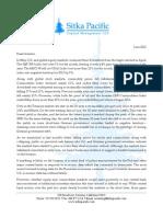 Sitka Pacific Capital Management June 2012 Client Letter