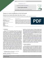 Kaur 2011 - Progress in Starch Modification in the Last Decade