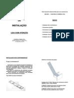 manual de instalação de contra marco
