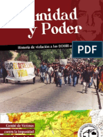 Libro Impunidad y Poder