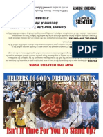 Helpers of God's Precious Infants Brochure (prolife propaganda)