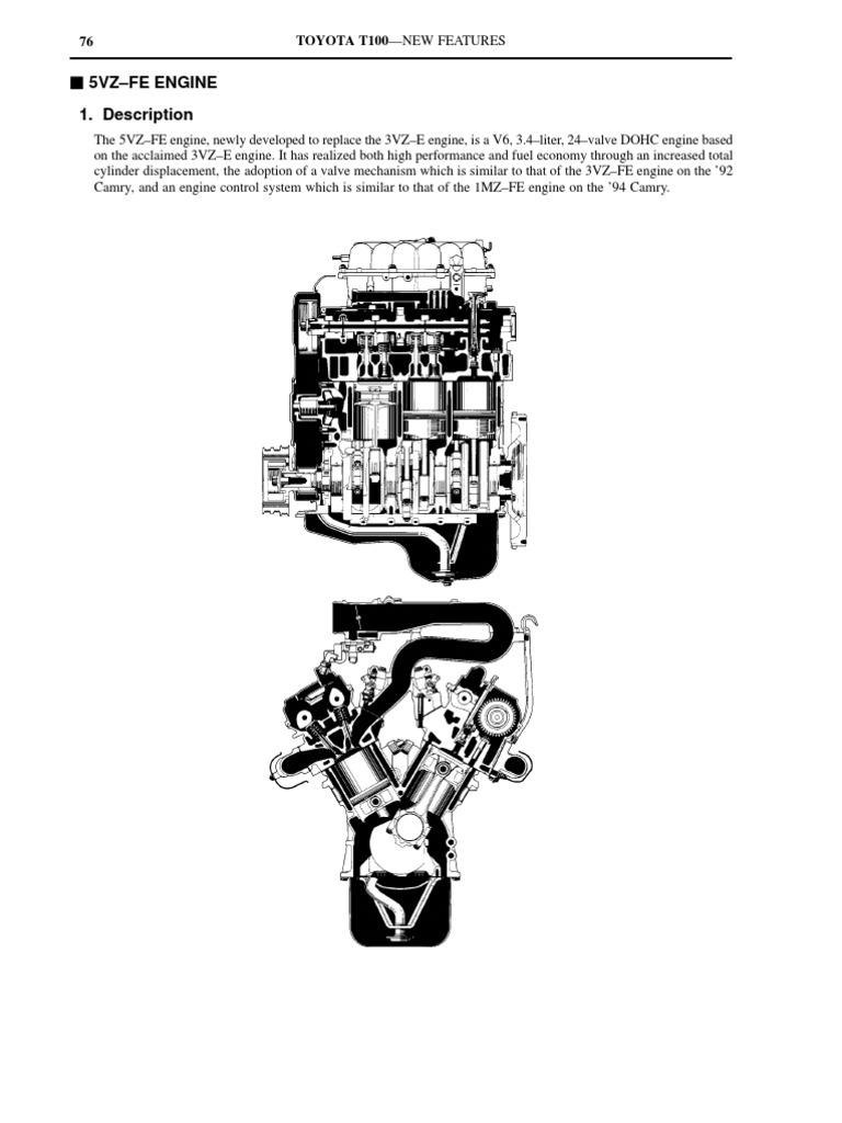3vzVS5vz   Fuel Injection   Ignition System