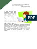 Diseño de materiales educativos computarizados