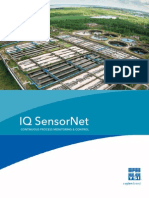 YSI IQ SensorNet Wastewater Process Monitoring and Control Instrumentation