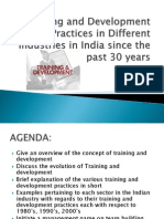 traininganddevelopmentpracticesinindiasincethepast30years-110908234122-phpapp02