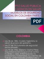 Modelo de Seguridad Social en Colombia