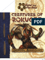 Monster Manual - Creatures of Rokugan by Azamor