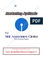 Marketing Aptitude for SBI Associates