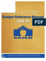 Budget Reference Manual 2008-09-9!2!08