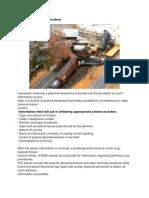 Hazardous Materials Incident