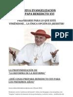 La Nueva Evangelizacion del Papa Benedicto XVI