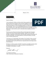 James Holmes University of Illinois Acceptance Letter