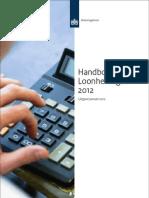 Handboek loonheffingen 2012