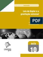 Leis de Keples e a gravitação universal