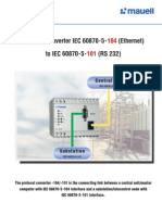 IEC 60870-5-104 to 101 Protocol Converters