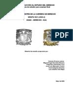 Introducción al Estudio del Derecho Derecho [grupo9921-2009-2]