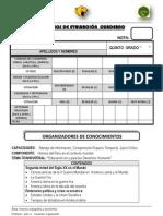 Criterios de Evaluacion 2012 i Bim