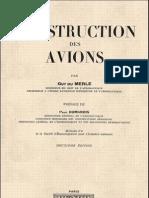 Construction Des Avions - Guy Du MERLE