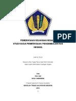 Karya Tulis Pemeriksaan Keuangan Negara