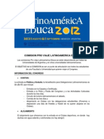 Comision Pro Viaje Latinoamerica Educa