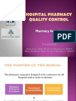 Hospital Pharmacy Manual (Final)