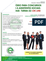 Curso Preparatório Fase- Turma On Line