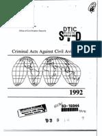 CriminalActsAgainstCivilAviation_1992